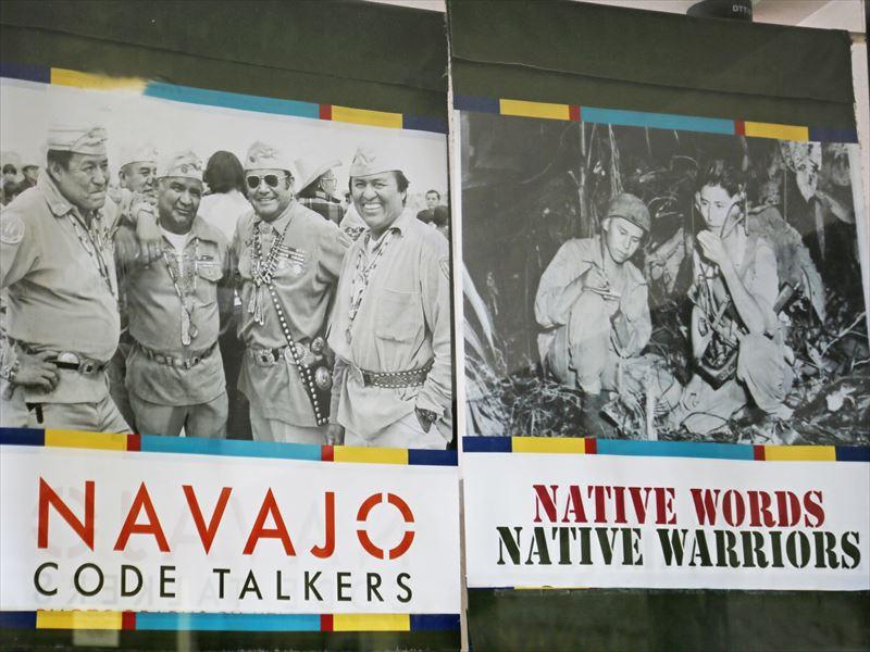 ナバホ族 コードトーカー
