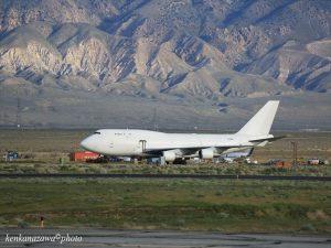 飛行機の墓場 モハベ空港