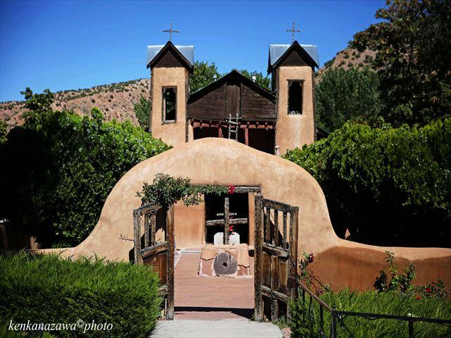 奇跡の砂 サントワリオ・デ・チマヨ教会