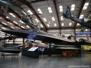 ピマ航空宇宙博物館 SR-71Aブラックバード