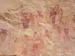 プエブロ・インディアンの岩絵